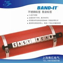 BAND-IT不鏽鋼字母標牌