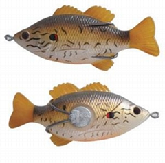 BASS FISH LURE HOLLOW SOFT LURE