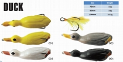 DUCK LURE TOPWATER