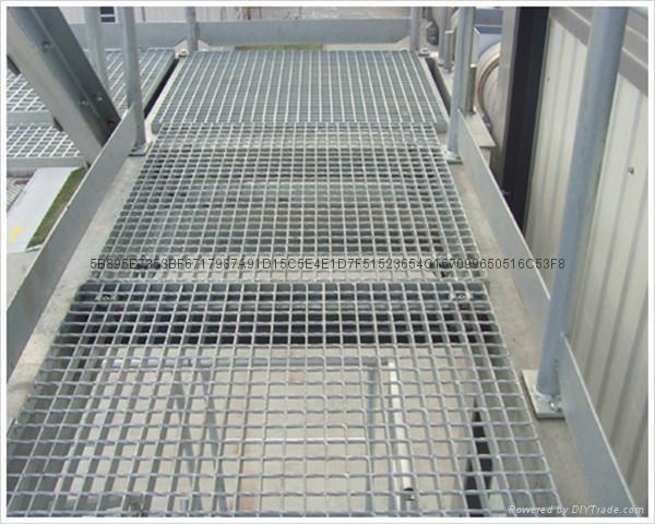 走道平台镀锌钢格板 4