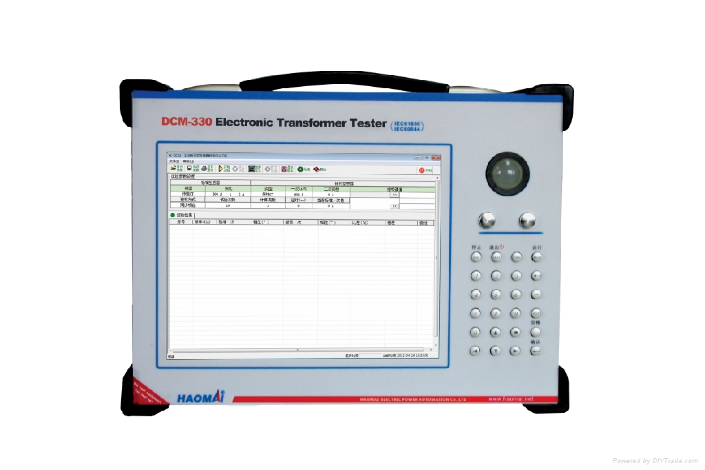 Lastcheck Transformer Tester : Test system electronic transformer set dcm