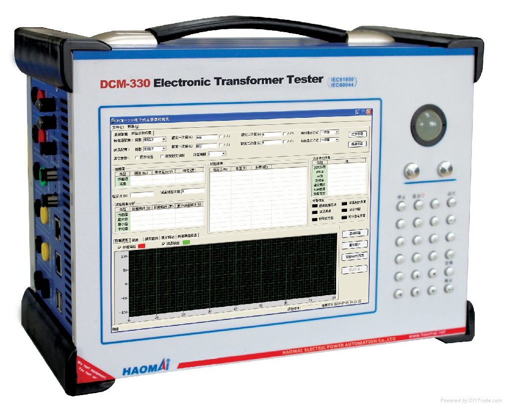 Electronic Product Testing Instruments : Test system electronic transformer set dcm