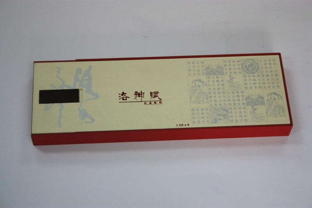 """The """"scholar's four jewels"""" packing box 2"""