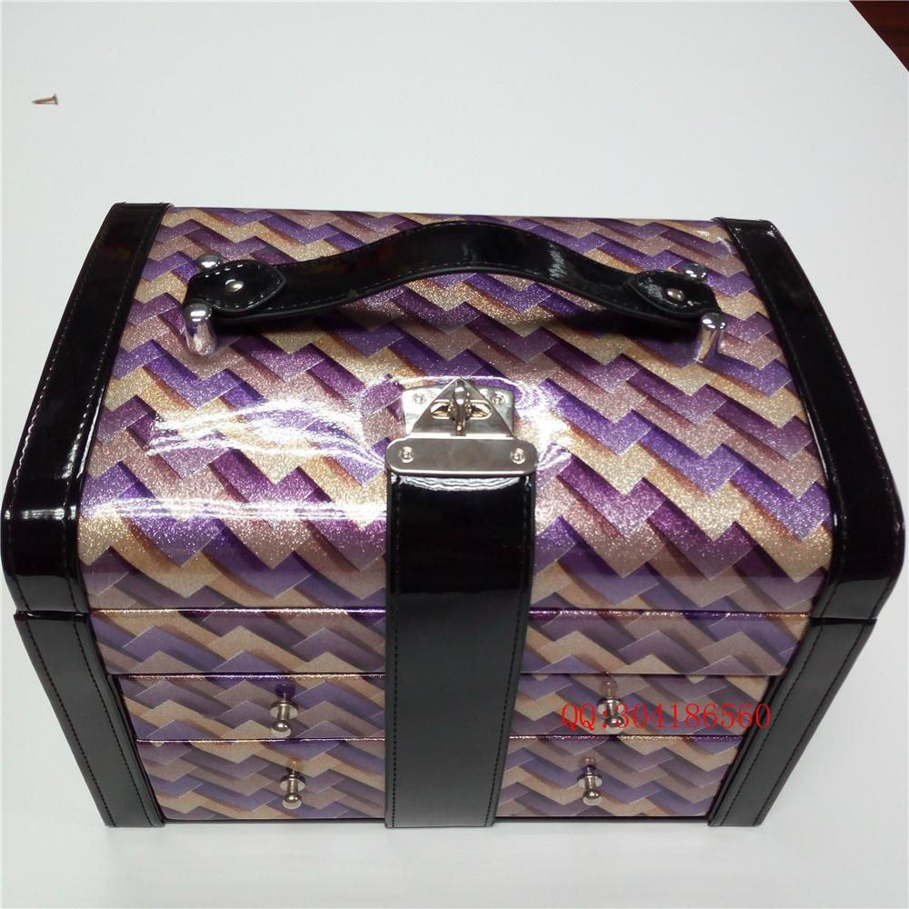 定製高檔化妝品收納皮盒 5