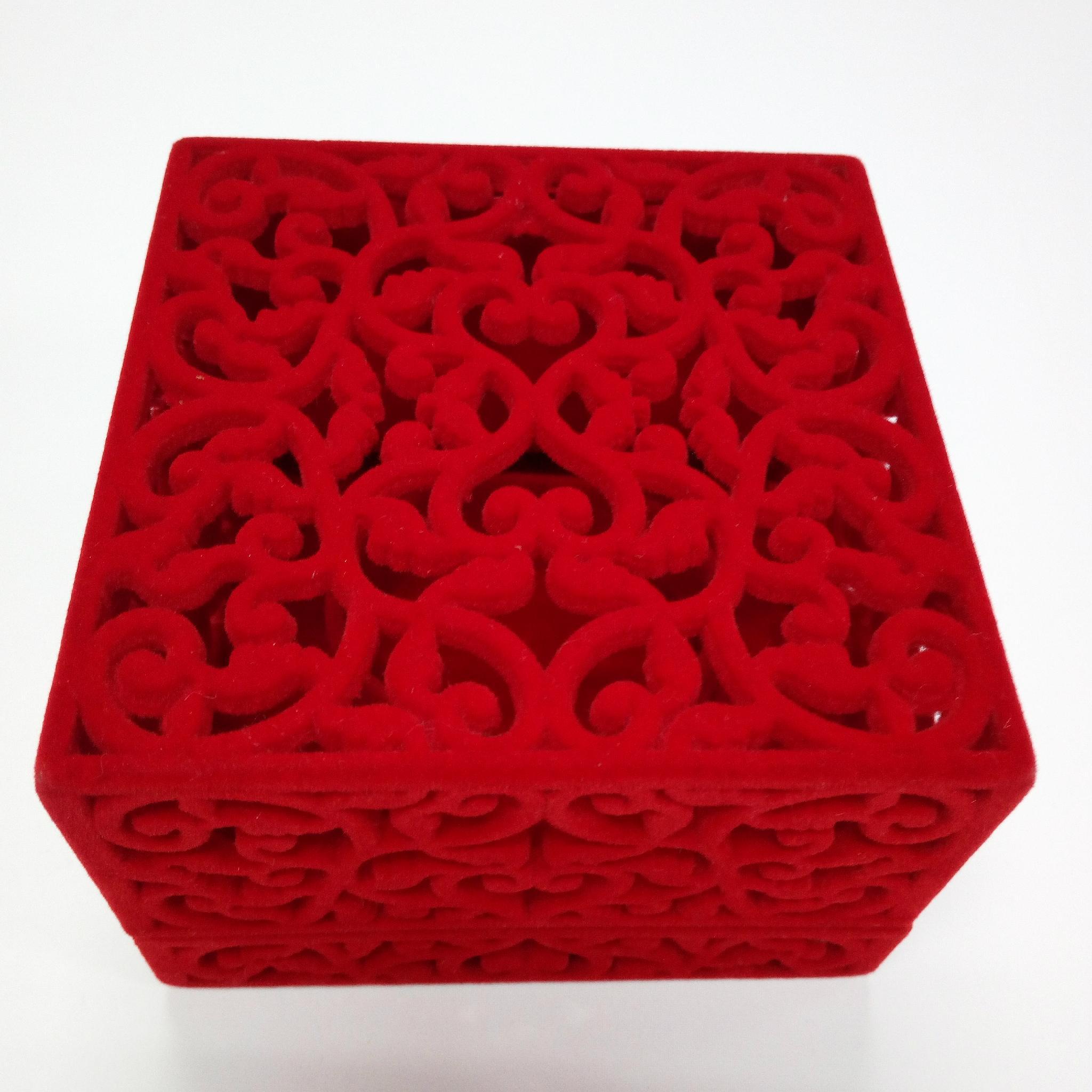 仿皮绒礼品包装盒 1