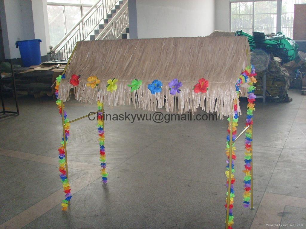 Charmant Tabletop Tiki Hut