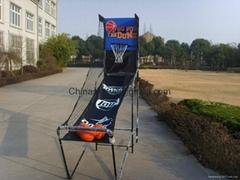 电子篮球架