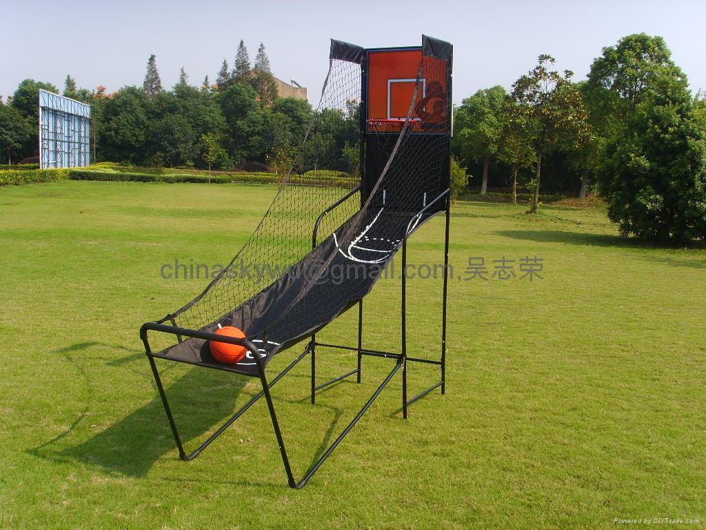電子籃球架 3