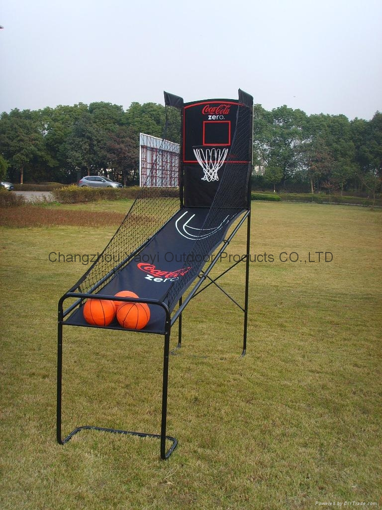 可口可樂籃球架 2
