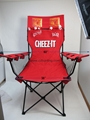 CHEEZ-IT Giant chair with hoops