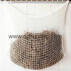 Slow hay feeder net