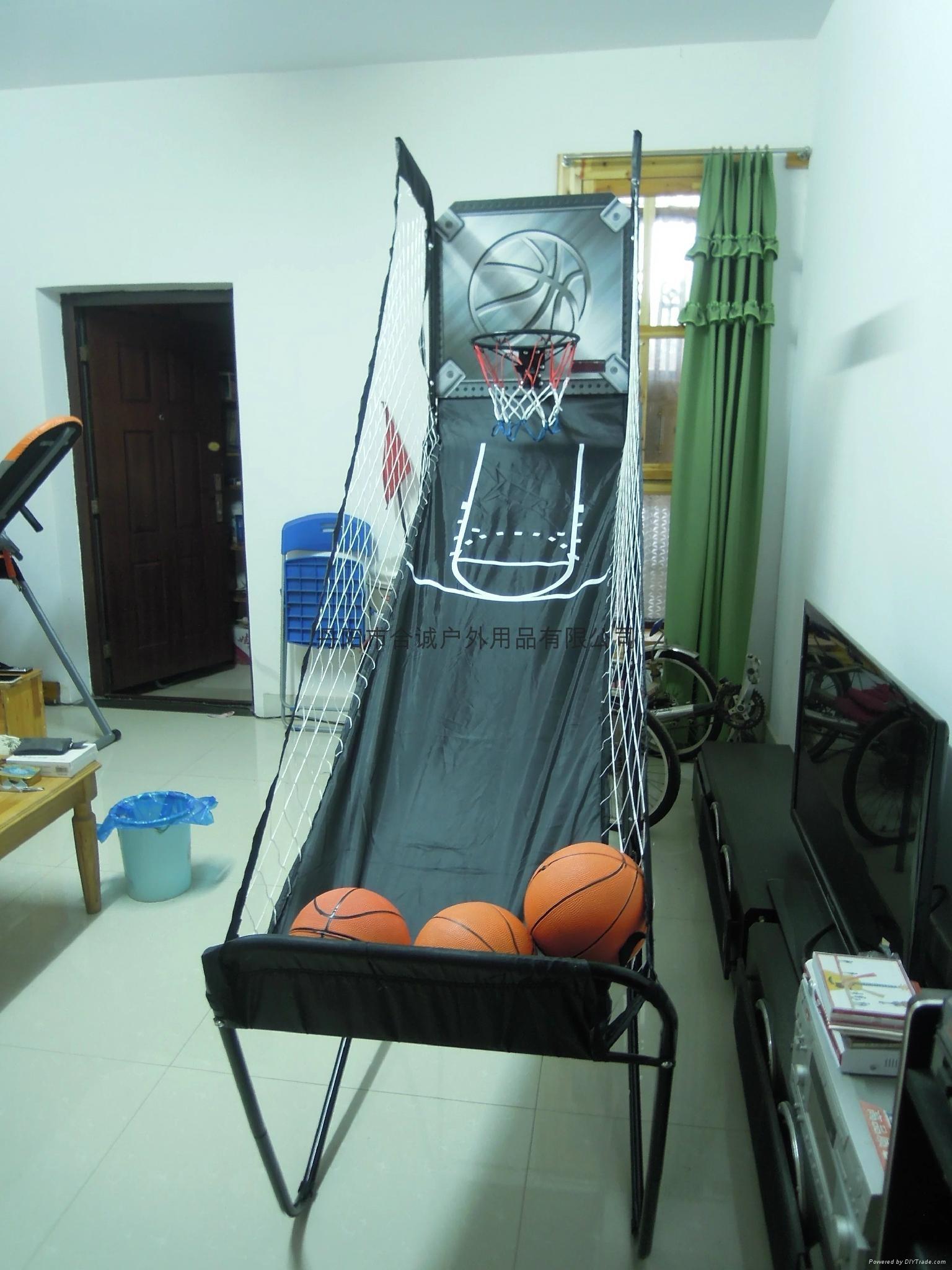 單人籃球架 1