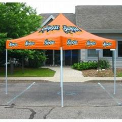 Pop Up Advertising  Tent