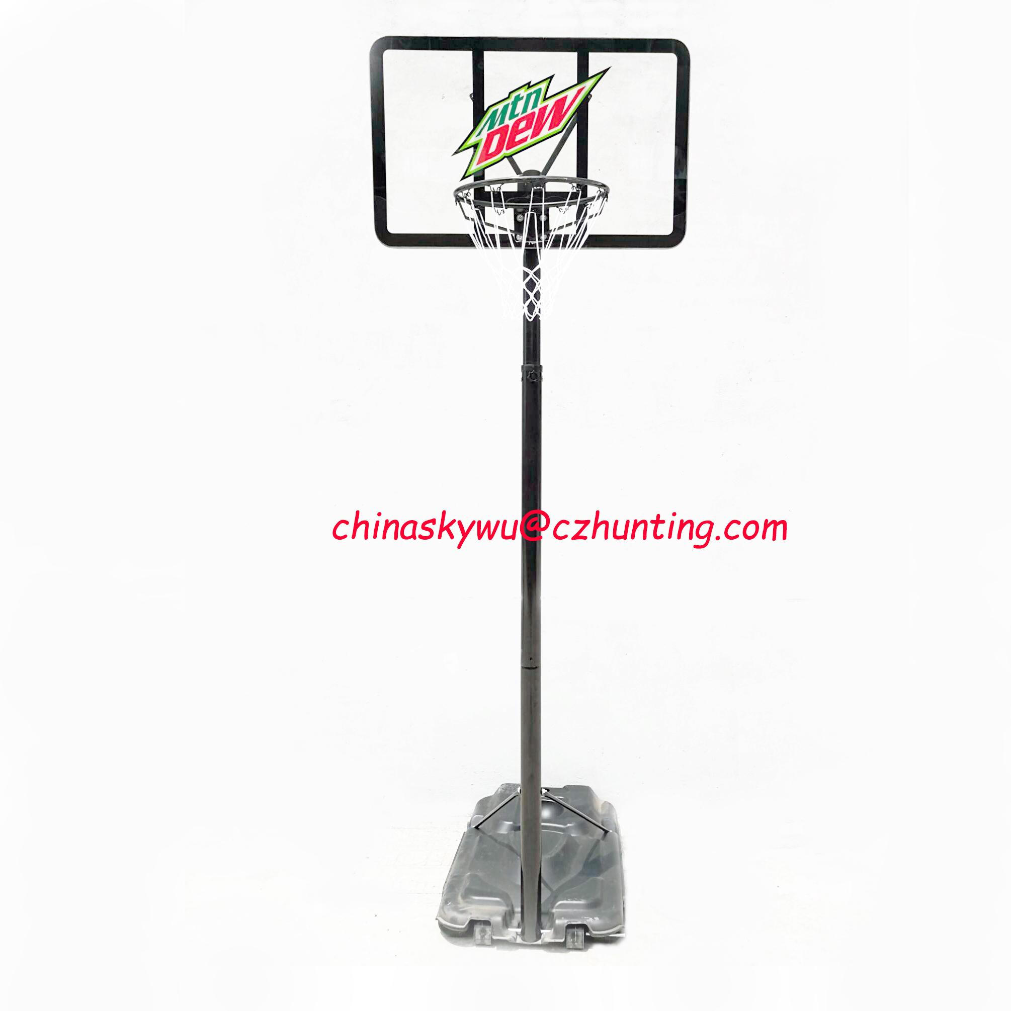 Mtn Dew 10ft Outdoor Basketball Set