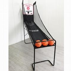 可口可樂籃球架