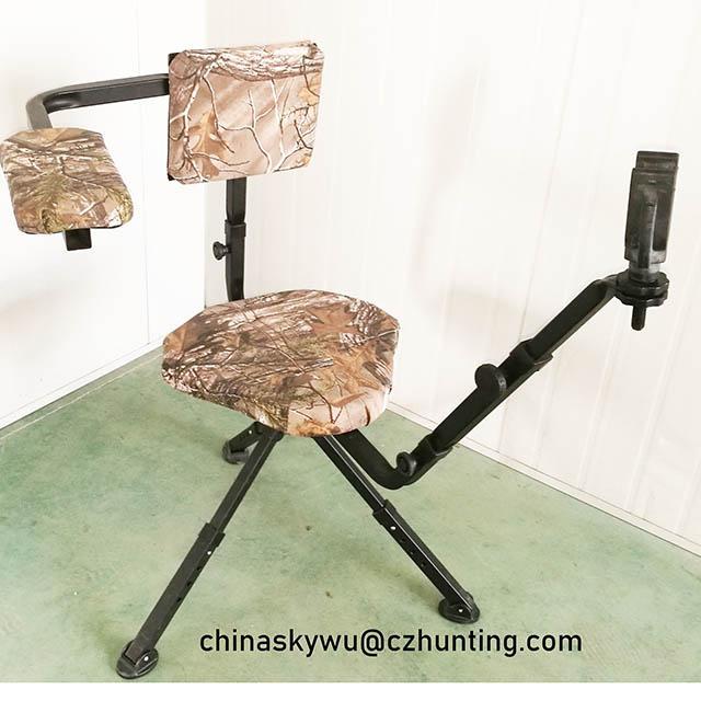 带枪托打猎旋转椅 1