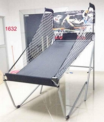 双人电子计分篮球架