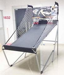 雙人電子計分籃球架