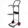 Saddle rack cart