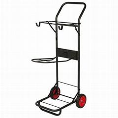 Saddle rack cart