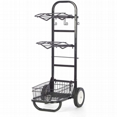 Heavy Duty Rolling Saddle rack cart  (Hot Product - 1*)