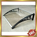 diy pc polycarbonate awnings canopies canopy awning bracket support arm  5
