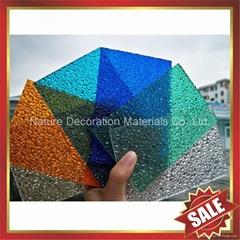 钻石型颗粒PC耐力卡布隆聚碳酸酯阳光板