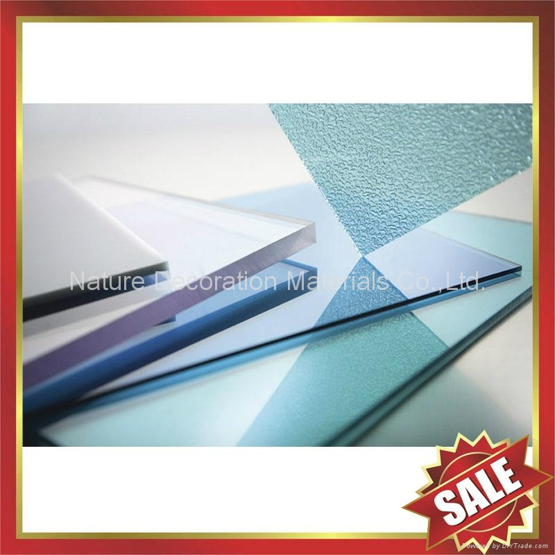 embossed PC polycarbonate solid sheet sheeting plate board panel 4
