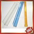 PC polycarbonate U Profile cover edge for solid hollow pc sheet 4