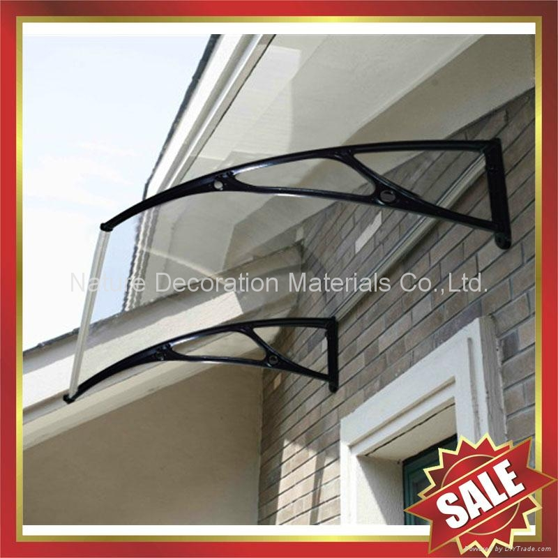 window door diy pc polycarbonate cast aluminum awning awnings canopies canopy 1