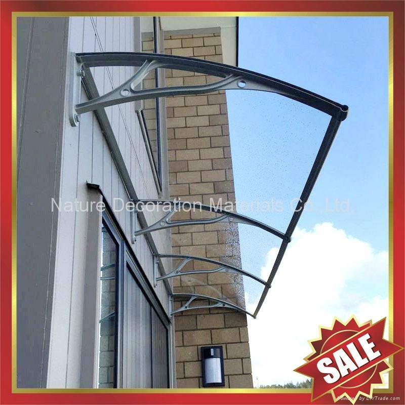 window door diy pc polycarbonate cast aluminum awning awnings canopies canopy 2