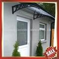 PC耐力卡布隆聚碳酸酯陽光板DIY別墅門窗遮陽雨篷棚蓬 2
