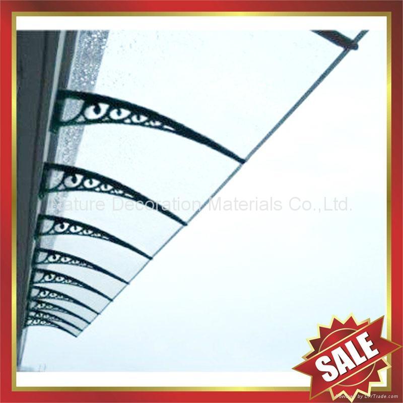 PC耐力卡布隆聚碳酸酯陽光板DIY別墅門窗遮陽雨篷棚蓬 3