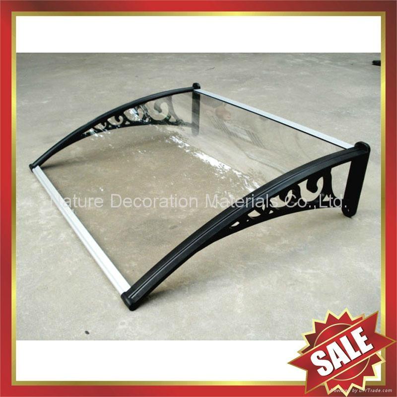 PC耐力卡布隆聚碳酸酯陽光板DIY別墅門窗遮陽雨篷棚蓬 5