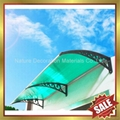 Merican diy pc polycarbonate awning canopy canopies shelter awnings 3