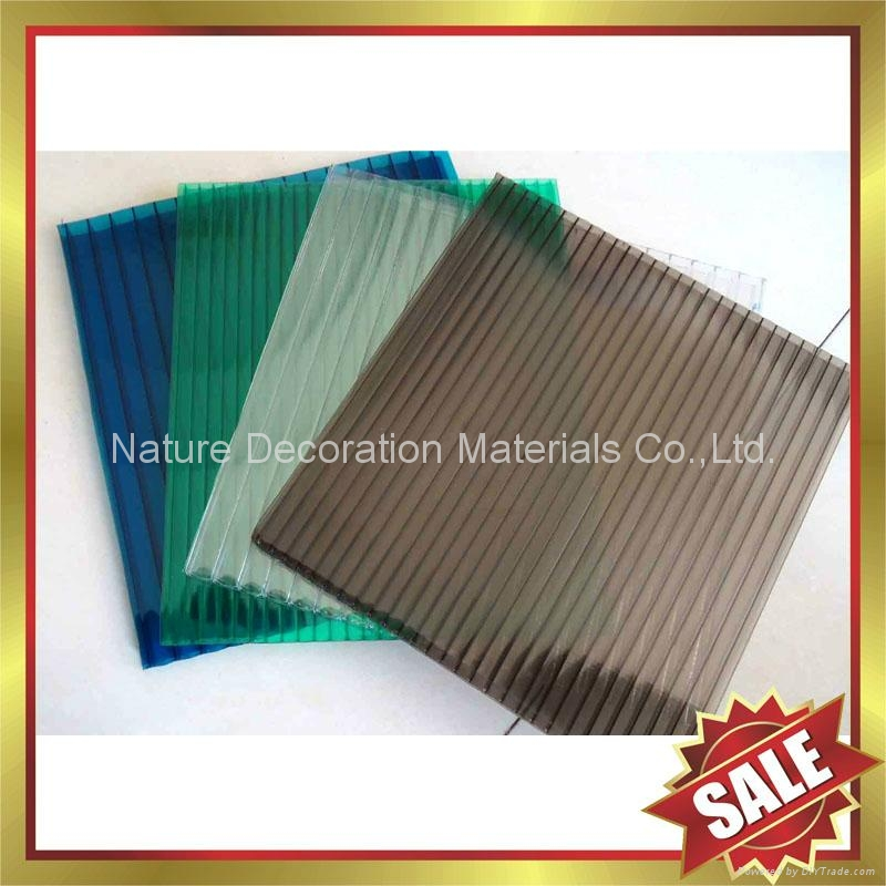PC polycarbonate solid roofing sheet sheeting panel plate board 4