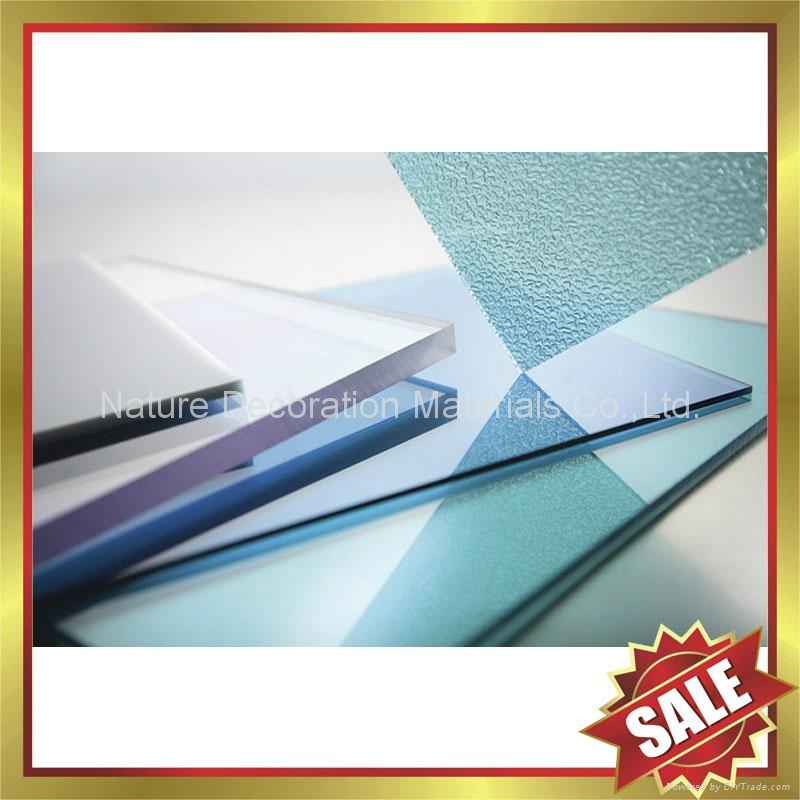 PC polycarbonate solid roofing sheet sheeting panel plate board 3