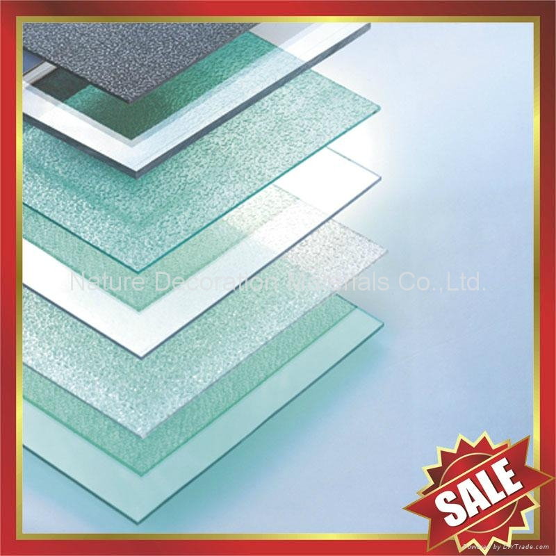 PC polycarbonate solid roofing sheet sheeting panel plate board 1
