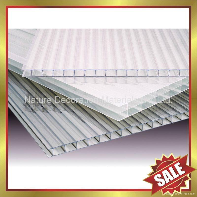 pc polycarbonate twin multi wall hollow sheet sheeting panel plate board 1