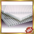 pc polycarbonate twin multi wall hollow