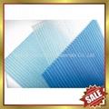 pc polycarbonate twin multi wall hollow sheet sheeting panel plate board 4