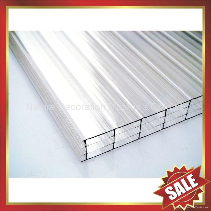 pc polycarbonate twin multi wall hollow sheet sheeting panel plate board 5