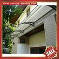 outdoor window door diy pc polylcarbonate rain sunshade awning canopy shelter