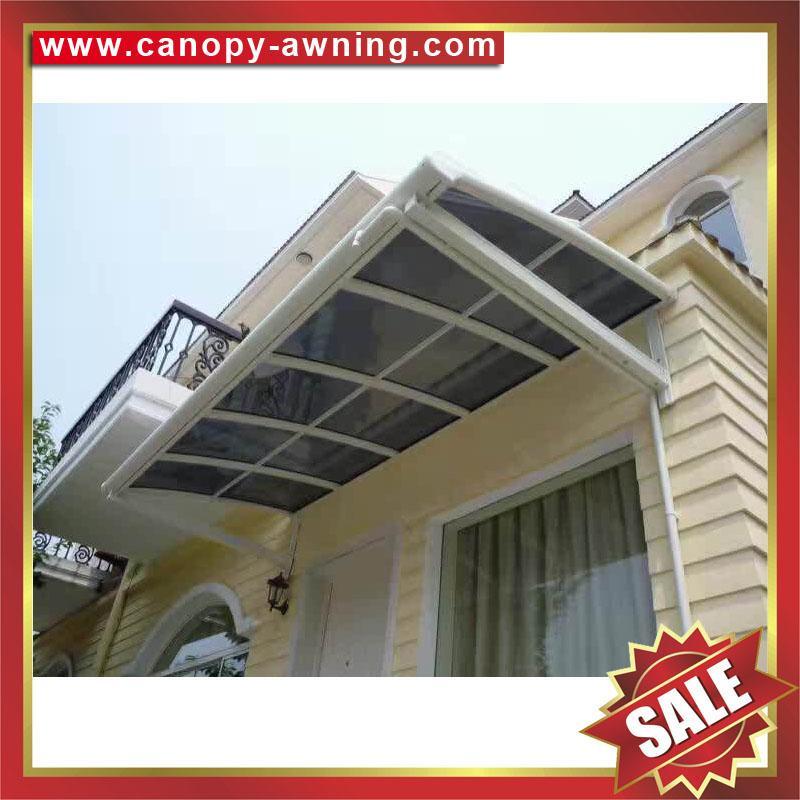 outdoor corridor patio gazebo pc champagne aluminum canopy awning shelter 4