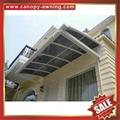 別墅鋁合金鋁制PC聚碳酸酯耐力板門窗雨棚雨陽篷遮陽蓬 4