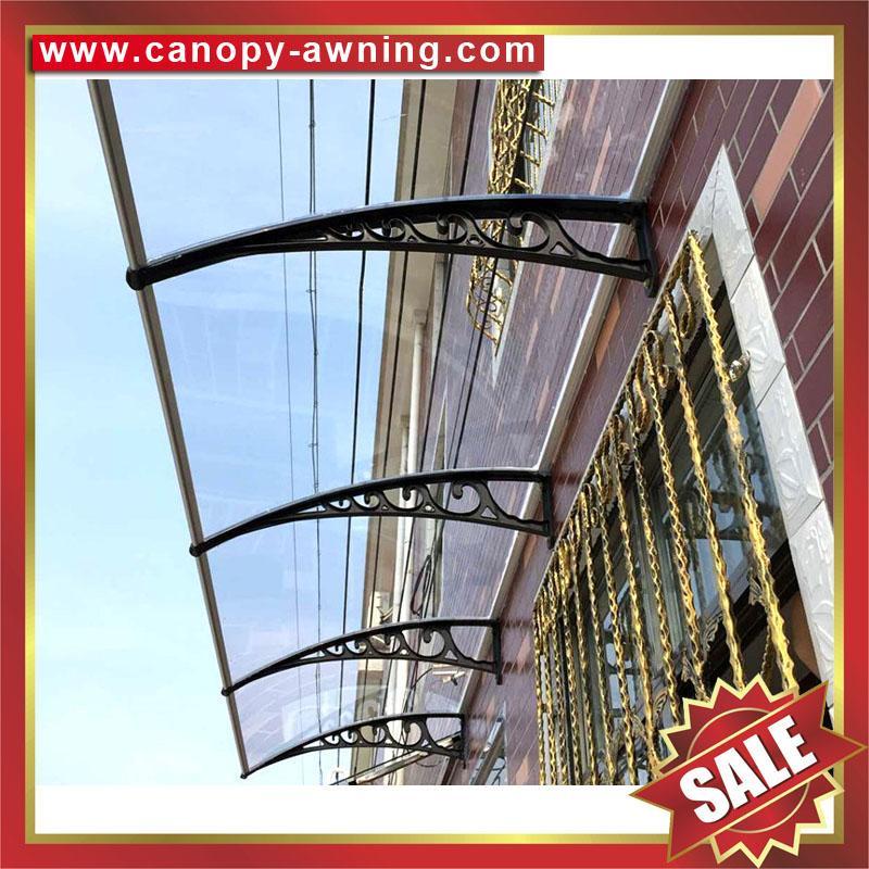 PC耐力板卡布隆聚碳酸酯DIY門窗門廊遮陽篷棚蓬 1