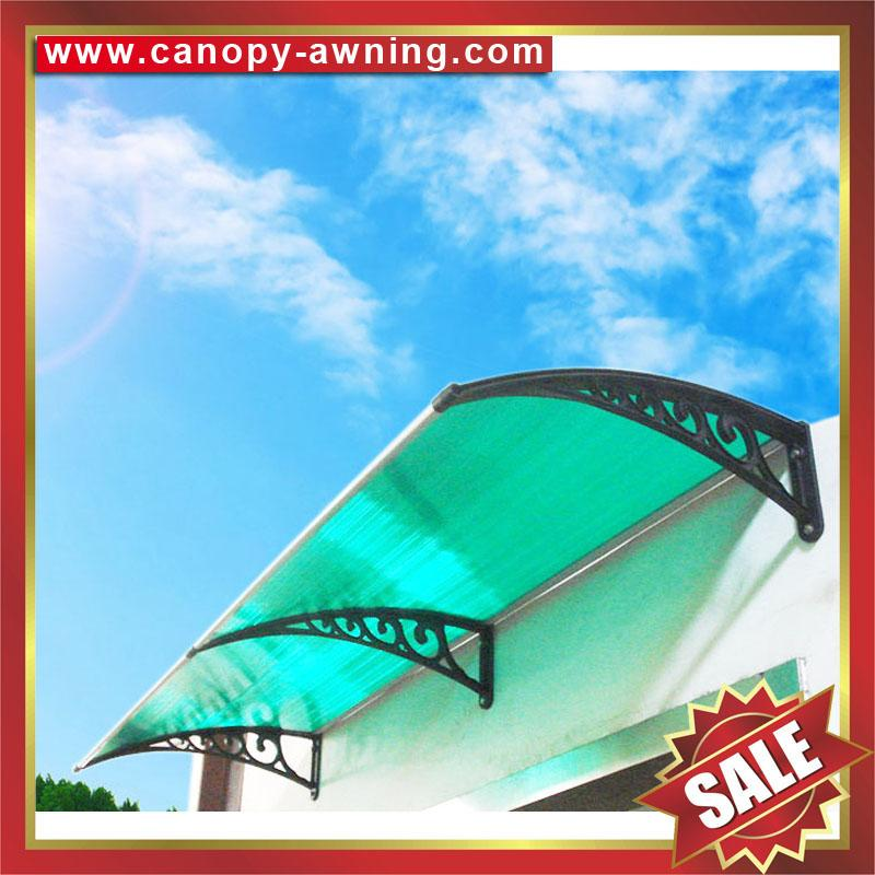 house door window pc polycarbonate diy canopy canopies awning shelter awnings 4