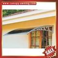 PC耐力板卡布隆聚碳酸酯DIY門窗門廊遮陽篷棚蓬 5