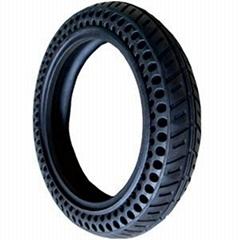 免充气电动车轮胎10寸