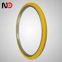 免充气轮胎 24x1.3`8